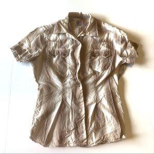 Vintage Levi's western snap button shirt blouse